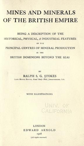 Download Mines and minerals of the British Empire
