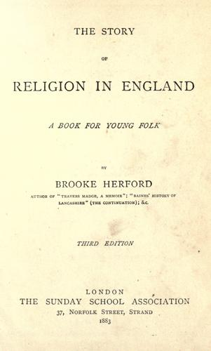 The story of religion in England