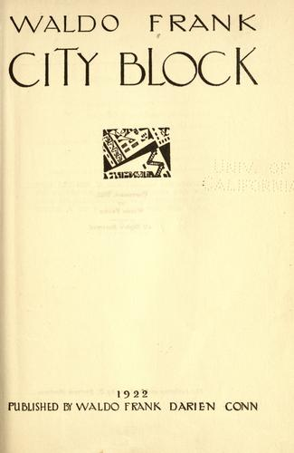 City block.