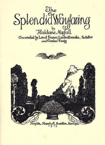 Download The splendid wayfaring