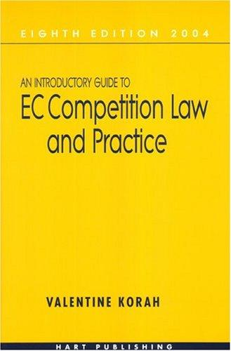 Download An introductory guide to EC competition law and practice