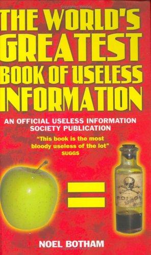 Download World's Greatest Book of Useless Information