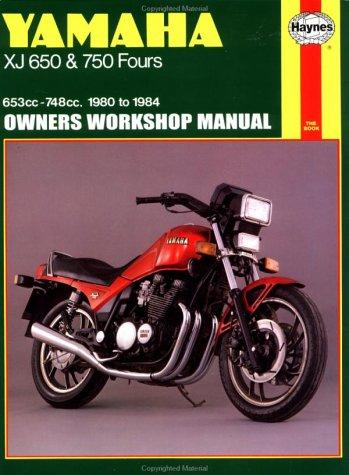 Download Yamaha XJ650 & 750 owners workshop manual
