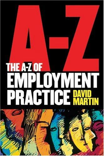 The A-Z of Employment Practice