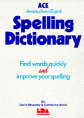 Download ACE Spelling Dictionary