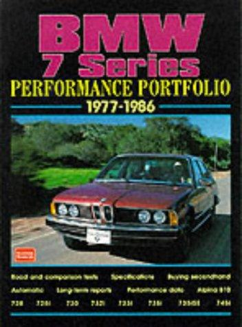 BMW 7 Series 1977-86 Performance Portfolio R.M. Clarke