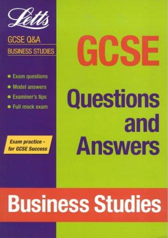 GCSE Questions and Answers Business Studies (GCSE Questions & Answers)