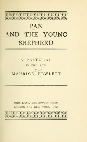 Pan and the young shepherd