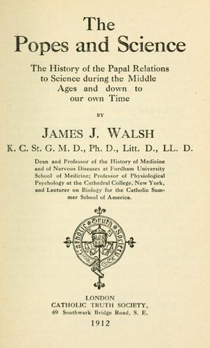Download The popes and science