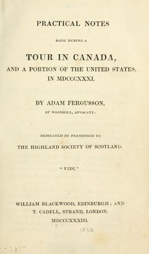 Download Practical notes made during a tour in Canada