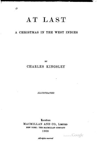 Download At Last: A Christmas in the West Indies