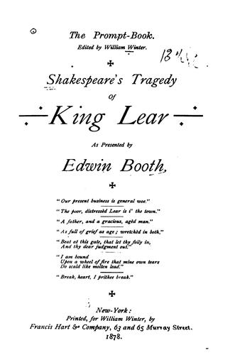 Download Shakespeare's Tragedy of King Lear
