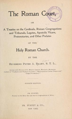 Download The Roman Court