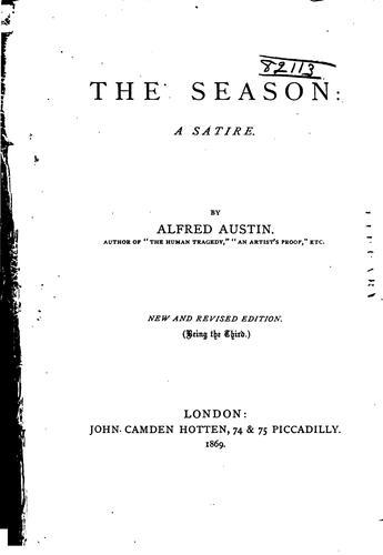 The Season: A Satire