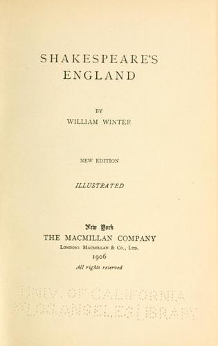 Download Shakespeare's England