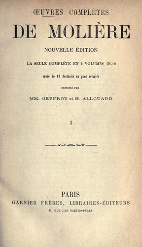 Oeuvres complètes de Molière.