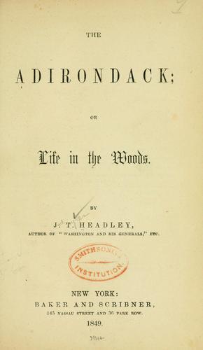 The Adirondack