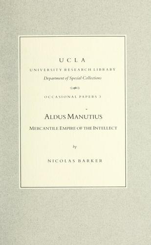 Download Aldus Manutius