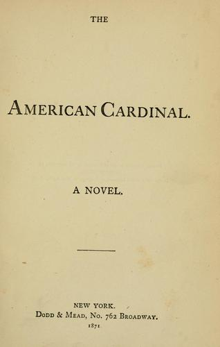 Download The American cardinal.