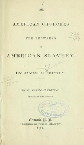 Download The American churches the bulwarks of American slavery