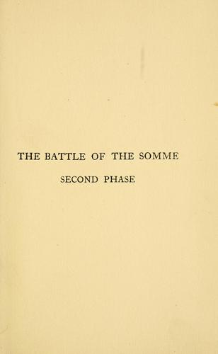 Download The Battle of the Somme, second phase.