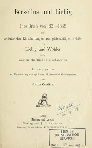 Download Berzelius und Liebig.