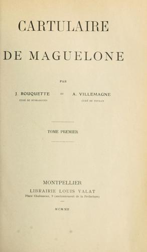 Download Cartulaire de Maguelone