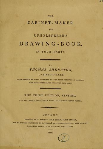 Download The cabinet-maker and upholsterer's drawing-book