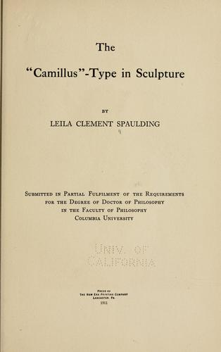 """Download The """" camillus""""-type in sculpture."""