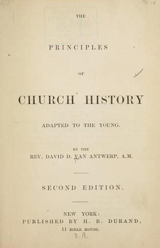 Church history handbooks.