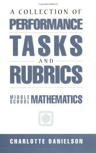 Download A collection of performance tasks and rubrics