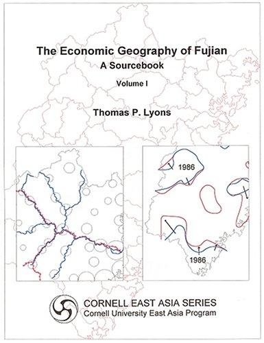 Download The economic geography of Fujian