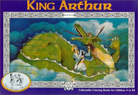 Download King Arthur Coloring Book (NanaBanana Classics)