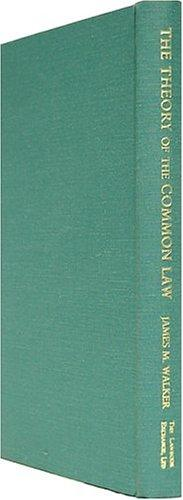 Download The theory of the common law