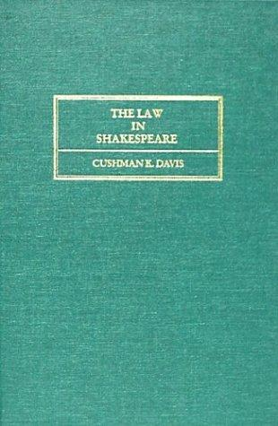 Download The law in Shakespeare