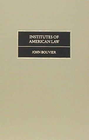Institutes of American law