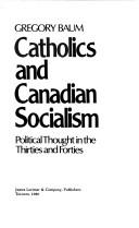 Download Catholics and Canadian socialism