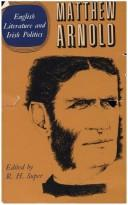 Complete prose works of Matthew Arnold