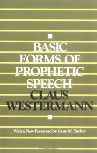 Download Basic forms of prophetic speech