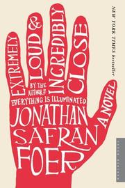 Book Cover: 'Extremely Loud and Incredibly Close' by Jonathan Safran Foer