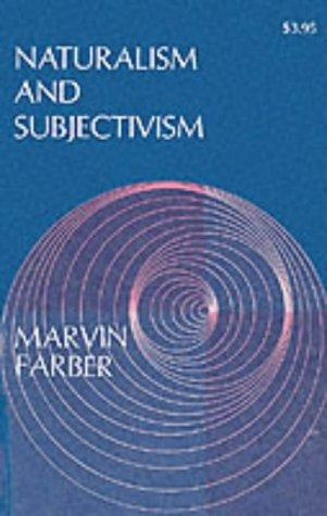 Download Naturalism & Subjectivism