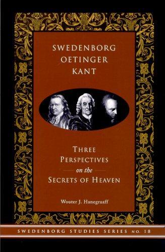 Download Swedenborg, Oetinger, Kant