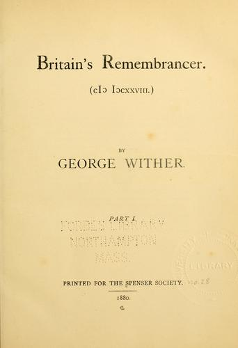 Britain's remembrancer.