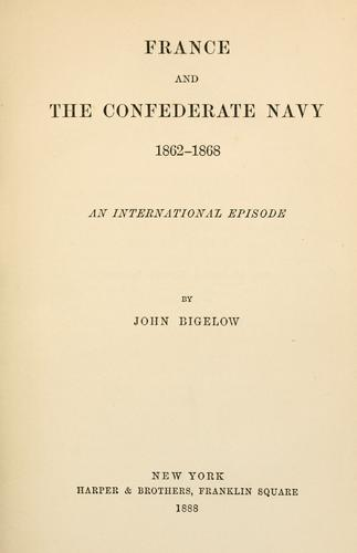 Download France and the Confederate Navy, 1862-1868