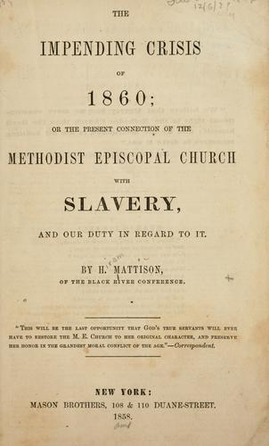 Download The impending crisis of 1860