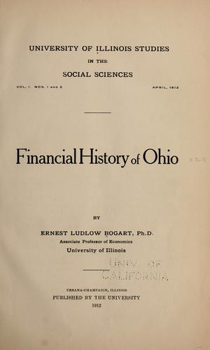 Download Financial history of Ohio