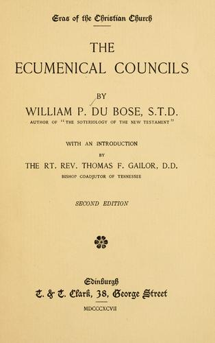 Download The ecumenical councils