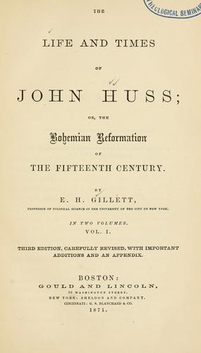 Download The life and times of John Huss