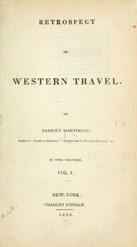 Download Retrospect of western travel