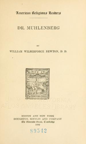 Download Dr. Muhlenberg